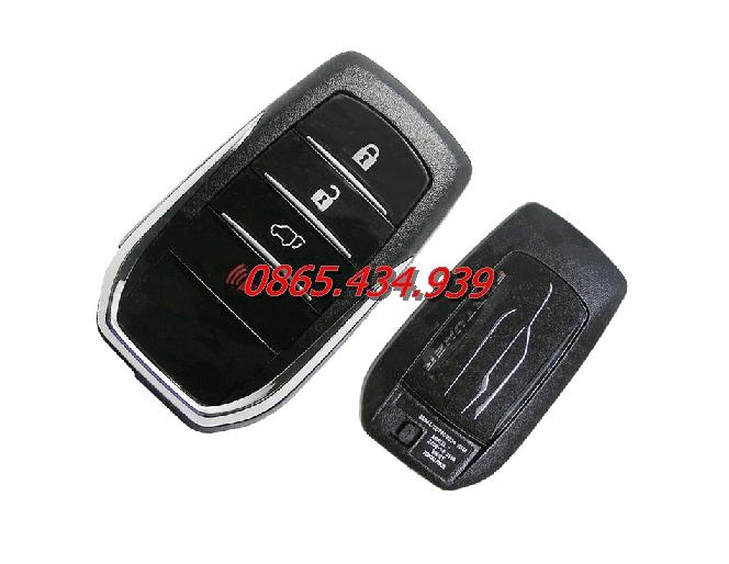 Chìa khóa Smartkey Toyota Fortuner