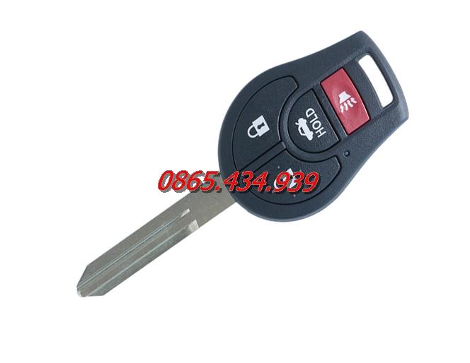 Chìa khóa remote Nissan Navara