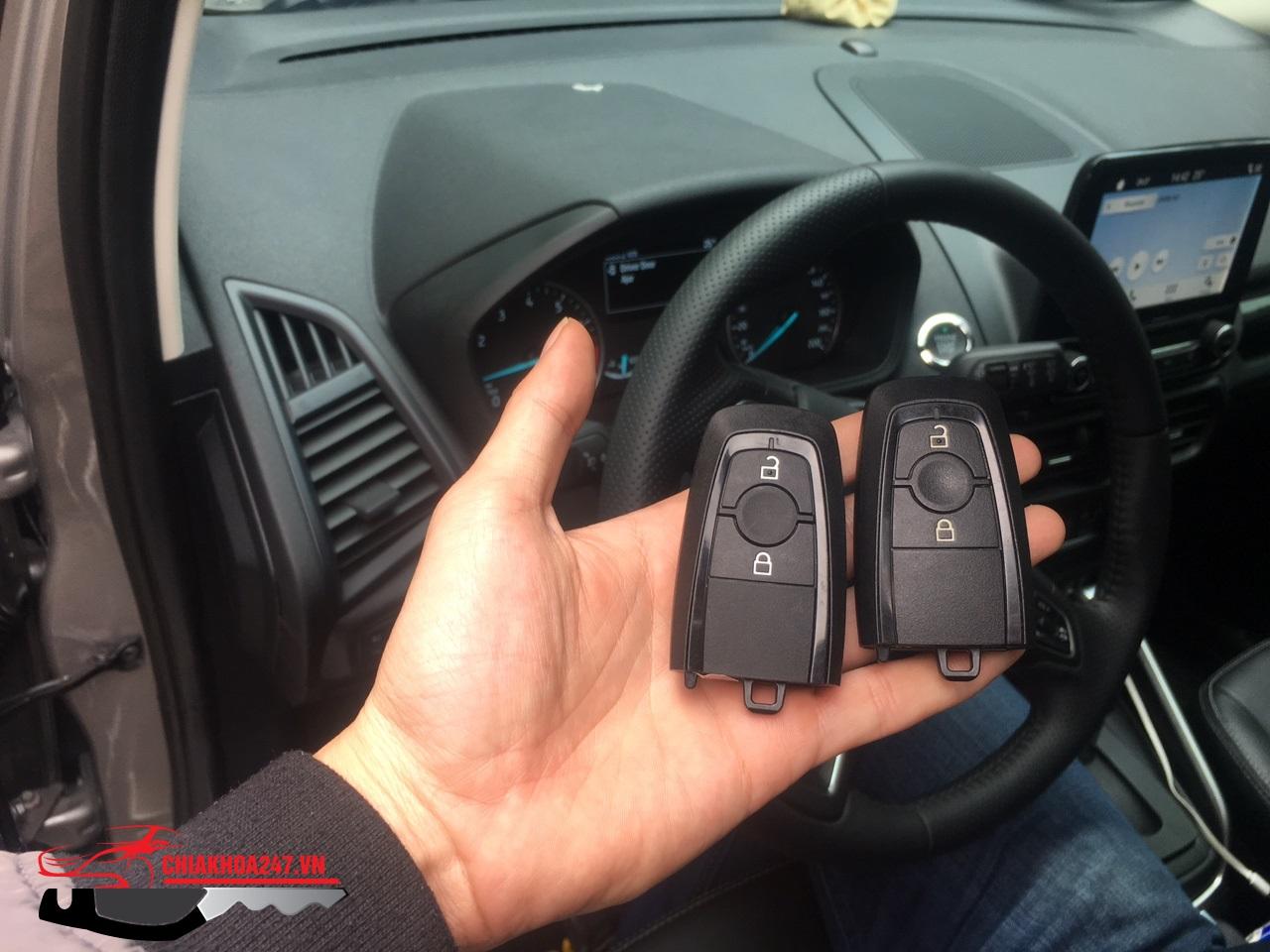 chìa khóa thông minh ford ecosport